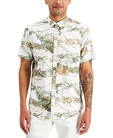 INC Men's Highland Short Sleeve Shirt, Created for Macy's