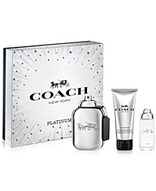 Men's 3-Pc. Platinum Eau de Parfum Gift Set