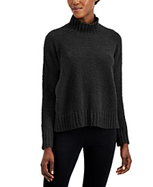 Organic Ribbed Turtleneck Box Top