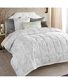 Metallic Textured Quilt, King