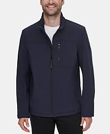Men's Soft Shell Open Bottom Jacket