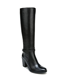 Kalina Wide Calf High Shaft Boots