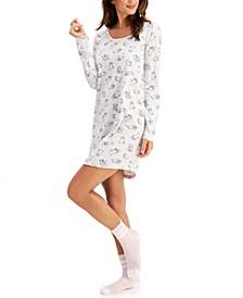 2-Pc. Sleep Shirt & Socks Set, Created for Macy's