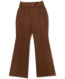 INC Petite Silky Ponté-Knit Flare-Leg Pants, Created for Macy's