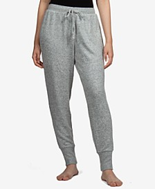 Juniors' Cozy Knit Jogger Pants
