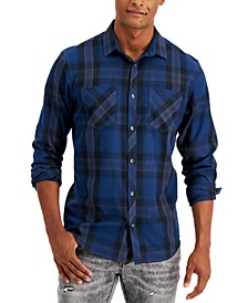 INC Men's Frank Plaid Shirt, Created for Macy's