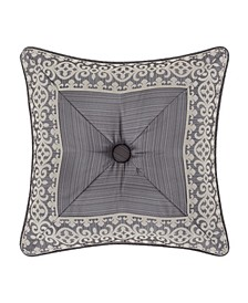 "Houston 18"" x 18"" Square Embellished Decorative Throw Pillow"