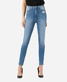 Women's Super High Rise Skinny Ankle Jeans