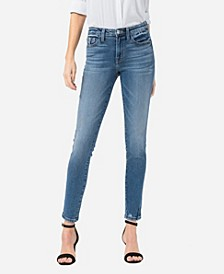 Women's Mid Rise Skinny Ankle Jeans