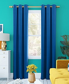 "Harper Bright Vibes 100% Blackout Grommet Curtain Panel, 40"" x 84"""