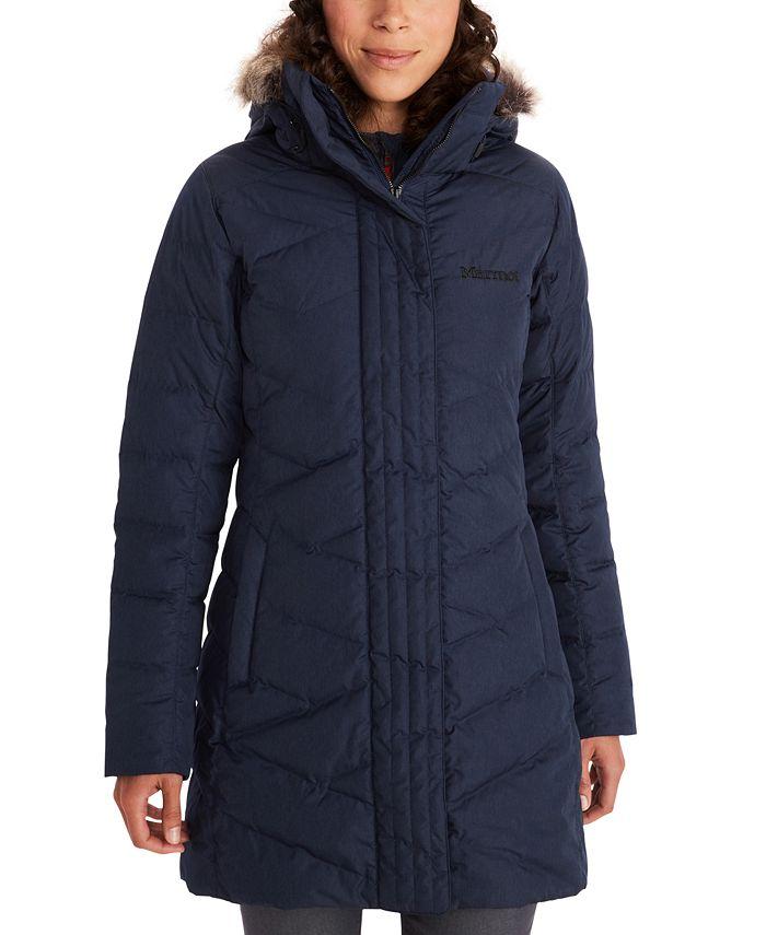 Marmot - Strollbridge Hooded Faux-Fur-Trim Coat