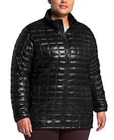 Plus Size Thermoball Quilted Coat