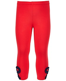 Toddler Girls Ruched Bow Leggings, Created for Macy's