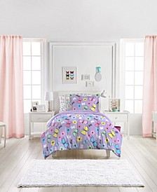 Sweet Butterfly Twin Comforter Set