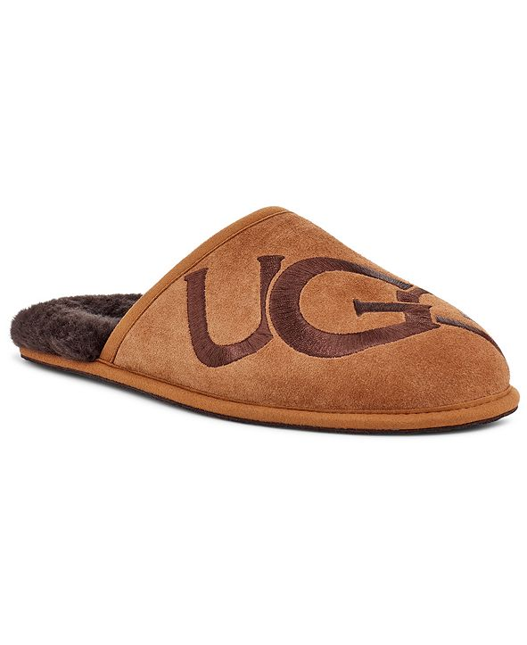 UGG® Men's Scuff Logo Slipper