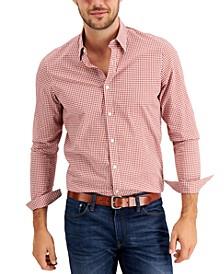 Men's Stretch Gingham Shirt