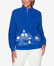 Women's Plus Size Classics Soft Scenic Pullover Top