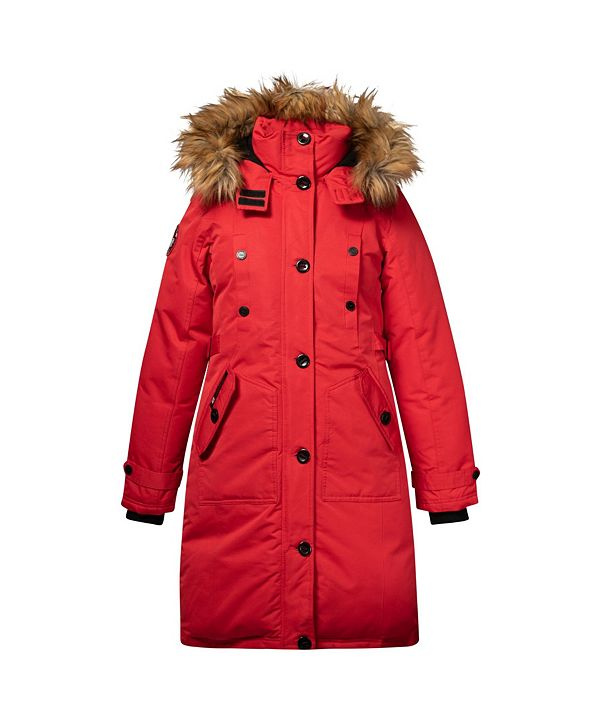 Canada Weather Gear Women's Parka Coat (19% Off) -- Comparable Value $99