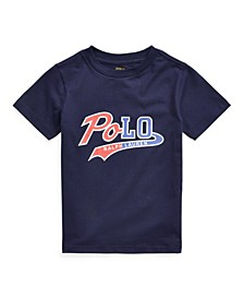 Little Boys Logo Jersey Tee