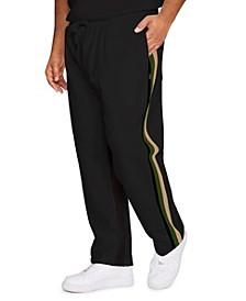 Men's Striped Track Pants