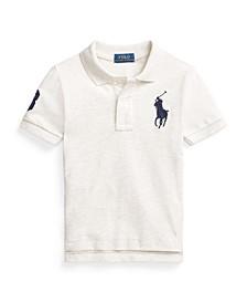 Little Boys Classic Fit Mesh Polo Shirt