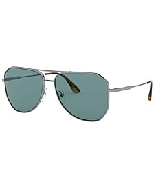 Men's Polarized Sunglasses, 0PR 63XS