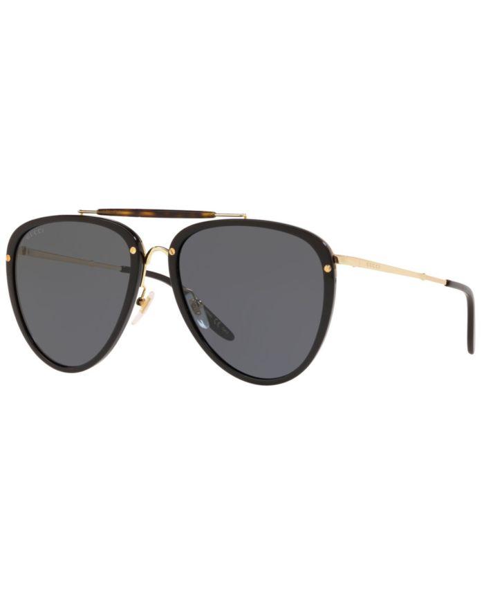 Gucci Men's Sunglasses, GG0672S 58 & Reviews - Sunglasses by Sunglass Hut - Men - Macy's