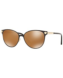 Women's Polarized Sunglasses, VE2168 57