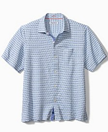 Men's Giovanni Dash-Print Shirt