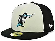 Miami Marlins Coop Front 59FIFTY Cap