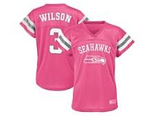 Authentic NFL Apparel Seattle Seahawks Girls Replica Jersey Russell Wilson