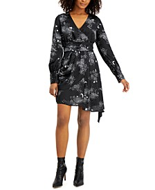 Star-Print Asymmetrical Dress, Created for Macy's