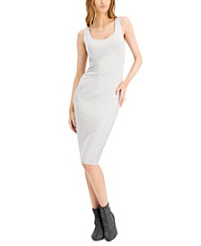 Bodycon Scoop-Neck Midi Dress, Created for Macy's
