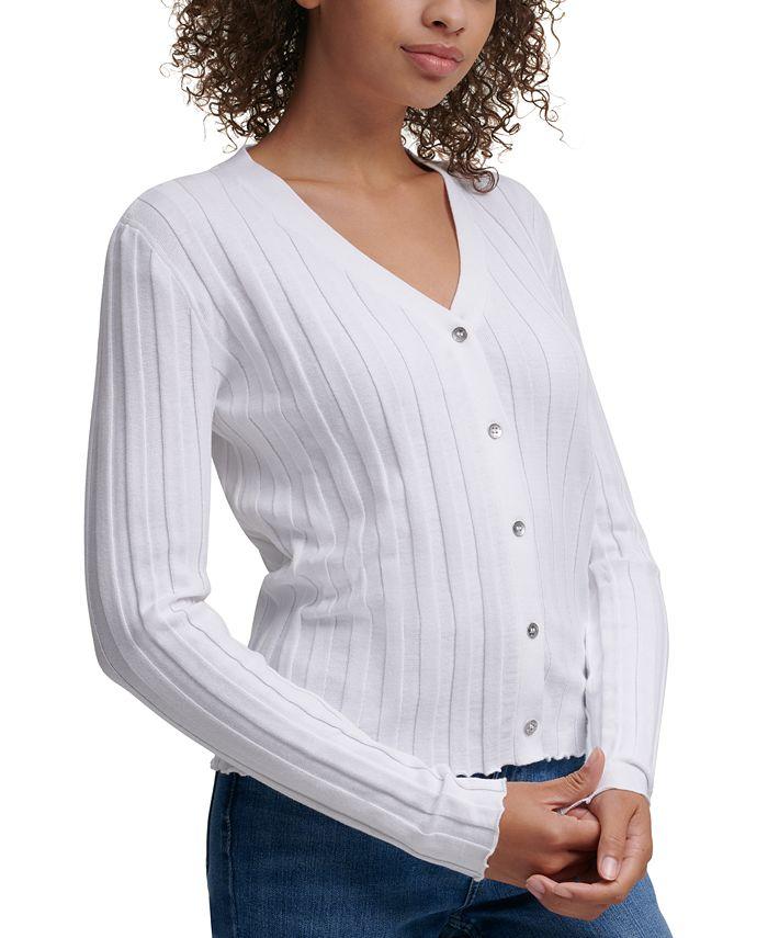 Calvin Klein Jeans - V-Neck Cotton Cardigan