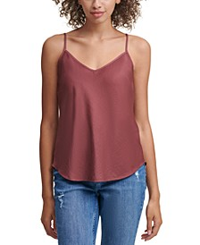 Charmeuse V-Neck Top
