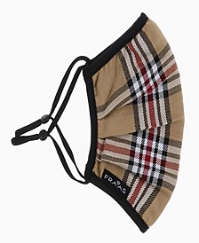 Classic Plaid Face Mask, 1 Piece