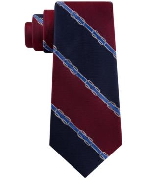 Tommy Hilfiger Men's Rope Knot Stripe Tie