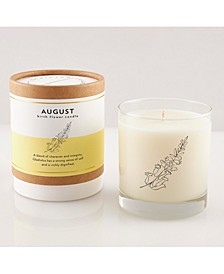 August Soy Candle