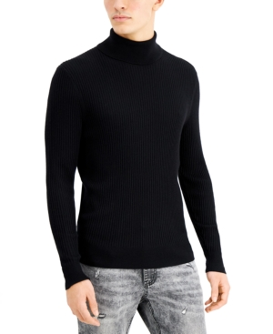 Men's Vintage Sweaters, Retro Jumpers 1920s to 1980s Inc Mens Ascher Rollneck Sweater Created for Macys $29.99 AT vintagedancer.com