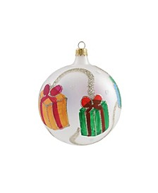 Ornaments Gifts with Ribbon Ornament