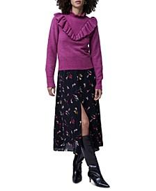 Mira Flossy Ruffled Sweater
