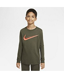 Big Boys Sportswear Long-Sleeve T-shirt