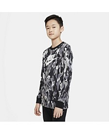 Big Boys Sportswear Printed Long-Sleeve T-shirt