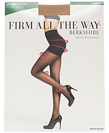 Women's  Firm All the Way The Skinny Shaper w/ Control Top Pantyhose 5050
