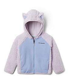 Toddler Girls Foxy Baby Sherpa Full Zip Jacket