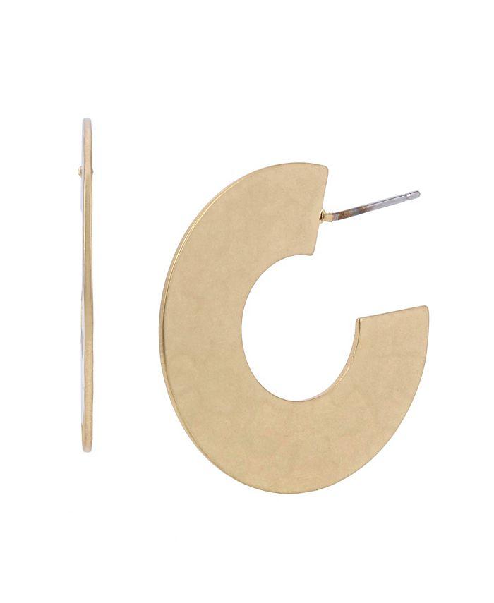 Robert Lee Morris Soho - Geometric Hoop Earrings