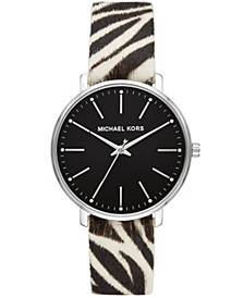 Women's Pyper Zebra Calf Hair Watch 38mm
