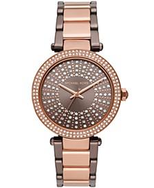 Women's Parker Two-Tone Stainless Steel Bracelet Watch 39mm