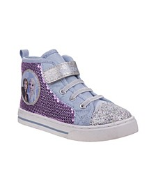 Frozen 2 Anna and Elsa Toddler Girls Sneaker