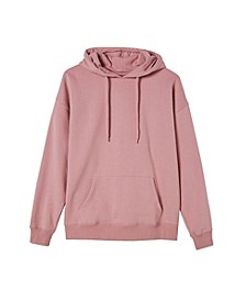 Women's Dad Maxi Peached Hooded Sweatshirt